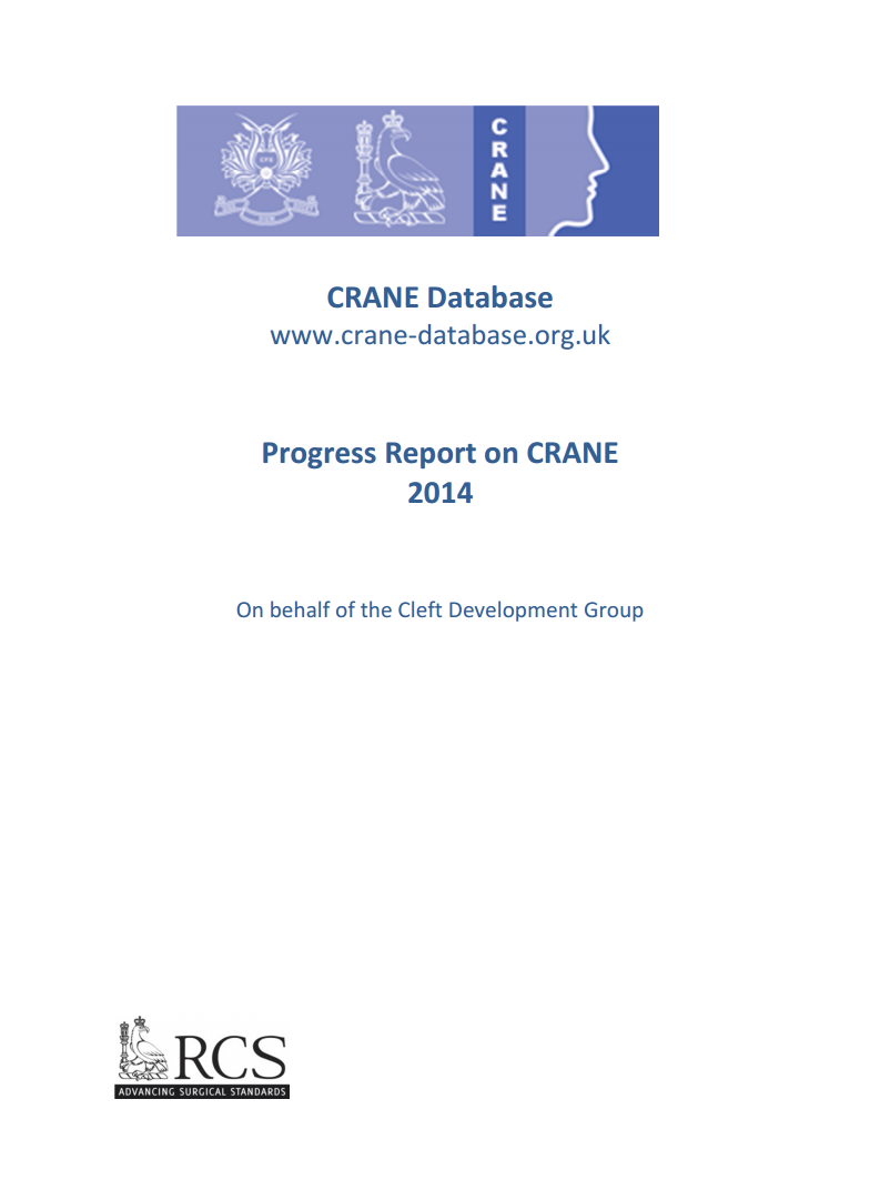 CRANE Progress Report 2014